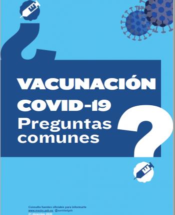 preguntas comunes vacunación covid-19